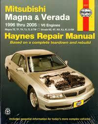 Mitsubishi Magna Verada 1996 2005 Haynes Service Repair Manual