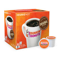 k cup portion pack dunkin donuts original blend coffee 44 pk