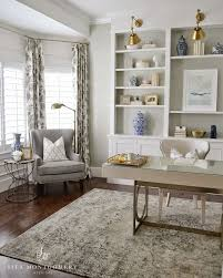 Best OfficeDen Space Images On Pinterest Office Spaces - Furniture placement living room bay window