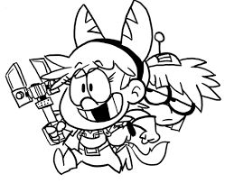 sandy cheeks coloring pages the loud crossover challenge the loud house amino amino