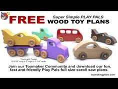 Free Wooden Toy Plans Patterns by Wood Push Car Truck And Helicopter Toys Knock Off Wood Ana