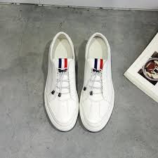 aliexpress help white shoes male korean loafers leather lace shoes to help low shoes