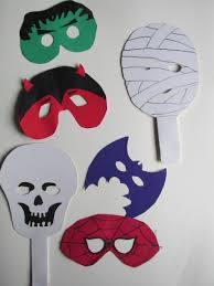 halloween craft masks craft sessions u2013 fairway fife moirasmac