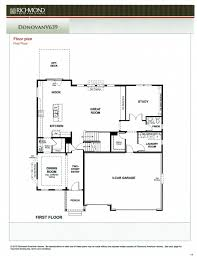 richmond american homes floor plans richmond american homes floor plans home design plan
