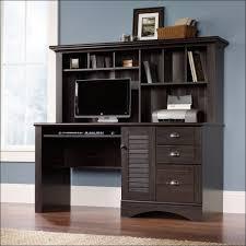 Oak Corner Computer Desk With Hutch Furniture Awesome Dark Wood Computer Desk With Hutch Corner