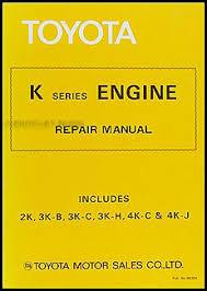 toyota 4k engine repair manual 28 images toyota k series
