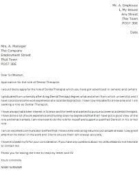 dental therapist cover letter example u2013 cover letters and cv examples
