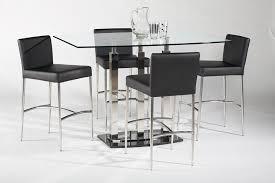 glass pub table and chairs 41 modern pub table sets baxton studio aurora 5 piece dark brown