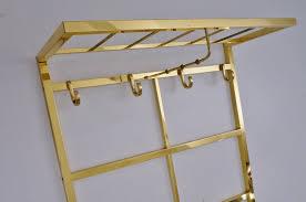 brass coat rack tjerk reijenga for pilastro 1970 s ca dutch in