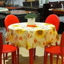 Round Kitchen Table Cloth by 77 Best Sunflower Table Cloth Runner Images On Pinterest