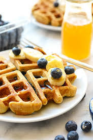 Eggo Toaster Waffles Healthy Blueberry Waffles Fit Foodie Finds