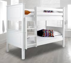 happy beds vancouver solid wood pine bunk bed 3ft single bedroom