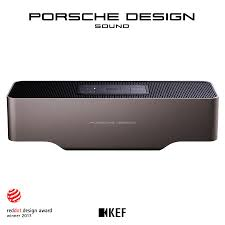 kef and porsche design gravity one bluetooth speaker canada
