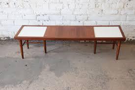 modern walnut coffee table liberty 33rd merton gershun for american of martinsville mid