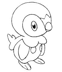 coloring pages pokemon piplup drawings pokemon