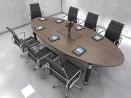 Oval Conference Table How To Choose The Conference Table U2014 Guide To Size U0026 Shapes