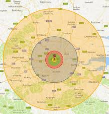 map of destruction what would happen if a nuclear bomb hit