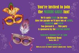 mardi gras party theme custom mardi gras theme party invitation with masks i create you