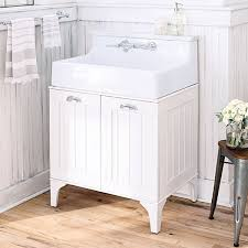 Console Sinks Bathroom Bathroom Sink And Vanity Mason Reclaimed Wood Double Sink Console