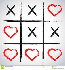 simple game x o game hand drawn tic tac toe elements happy val