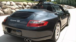 porsche 911 convertible 2005 for sale 2007 porsche 911 carrera 4s cabriolet akron ohio youtube