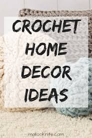 free crochet patterns for home decor crochet home decor ideas with free patterns mallooknits com