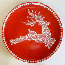 christmas plates 142 best christmas pottery ideas images on christmas