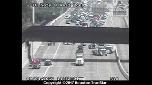 Houston Transtar Map I 10 Katy Freeway Near 610 West Loop Reopens After Heavy Truck