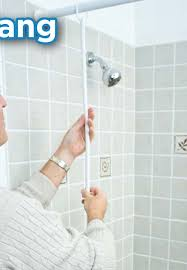 How To Hang Shower Curtain Shower Curtain Sealer Staydry Systems