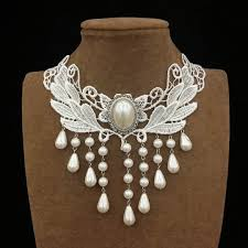 white pearls necklace designs images Gold necklace design white pearl necklace anextweb jpg