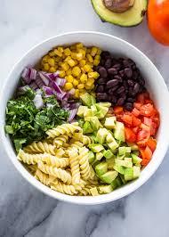 pasta slad creamy tex mex pasta salad