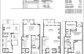 townhome plans modern house plans small townhouse plan floor donald gardner and
