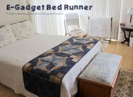e gadgets bed runner moda bake shop