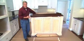 kitchen island with cabinets tip for finishing an island cabinet in your kitchen today s