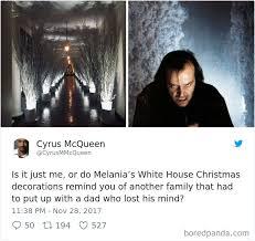 White Christmas Meme - 30 hilarious reactions to melania trumps creepy white house