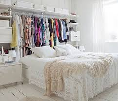 Ideas For Bedroom With No Closet Store Clothes Without A Closet