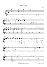 jingle bells easy piano sheet music by christmas piano
