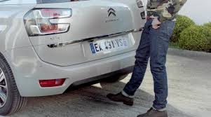 citroen c4 picasso trunk hands free tailgate u2013 discover new citroën c4 picasso youtube