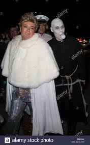jonathan ross u0027 halloween party arrivals alan carr arrives as