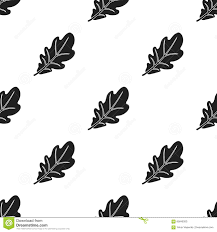 canadian thanksgivings oak leaf icon in black style isolated on white background