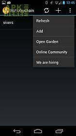 open garden apk wifi keychain for android free at apk here store