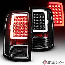 2014 ram 1500 tail lights amazon com anzousa 311144 black tail light assembly sold in