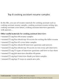 Resume Examples For Cooks by Cook Sample Resume Culinary Cover Letter Barneybonesus Resident