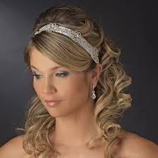 wedding headbands swirl bridal ribbon headband