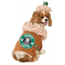 human dog costumes for halloween puppy latte dog costume with same day shipping baxterboo
