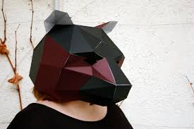 origami halloween 3d paper skull template pinteres origami halloween origami learn