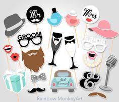 photo booths for weddings wedding photo booth props diy printable instant