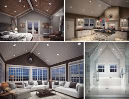 Sloped Ceiling Recessed Lighting Sloped Ceiling Light Led Pitched Ceiling Light Fixture