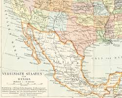 Mexico States Map by United States Map Print Mexico Map Print Indian Reservations