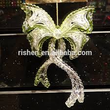 new design glitter wings ornament unique acrylic